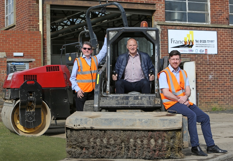 Construction firm Francis W Group eyes growth with North East expansion plan